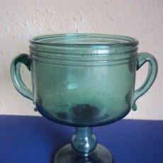Antigüedades: (VID-210121)COPA DE VIDRIO SOPLADO MALLORQUIN. Lote 242139575