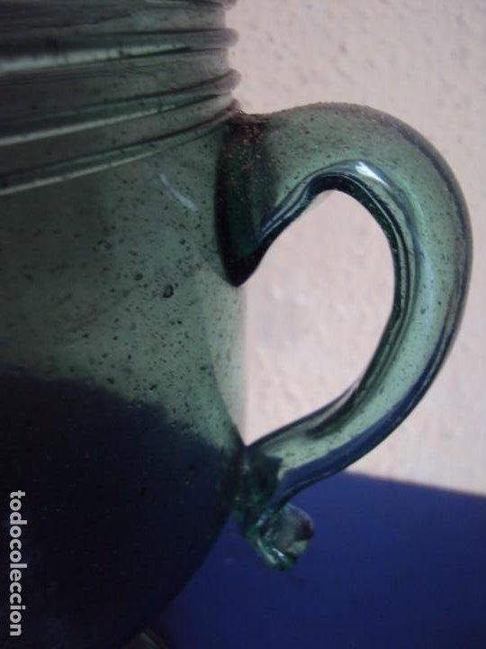 Antigüedades: (VID-210121)COPA DE VIDRIO SOPLADO MALLORQUIN - Foto 5 - 242139575