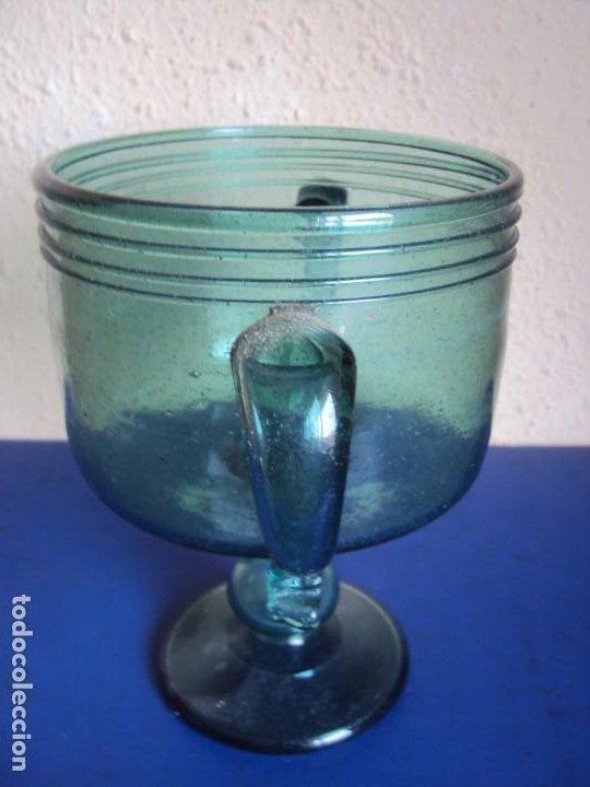 Antigüedades: (VID-210121)COPA DE VIDRIO SOPLADO MALLORQUIN - Foto 7 - 242139575