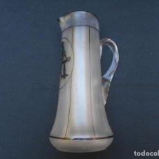 Antigüedades: ANTIGUA JARRA DE AGUA MODERNISTA, MIDE 28 CMS. DE ALTO. Lote 242183545