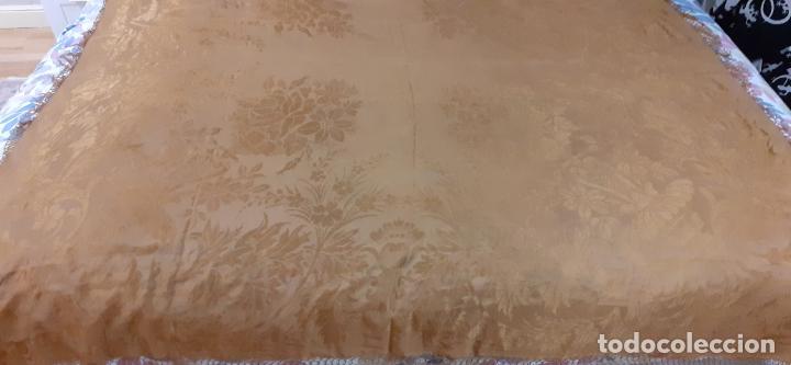 Antigüedades: mantón de seda indumentaria - Foto 5 - 231920695
