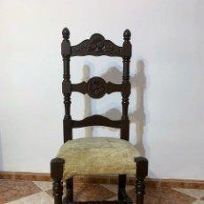 Antigüedades: SILLA TORNEADA. Lote 242231350