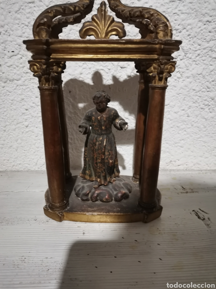 HORNACINA BUEN PASTOR (Antigüedades - Religiosas - Varios)