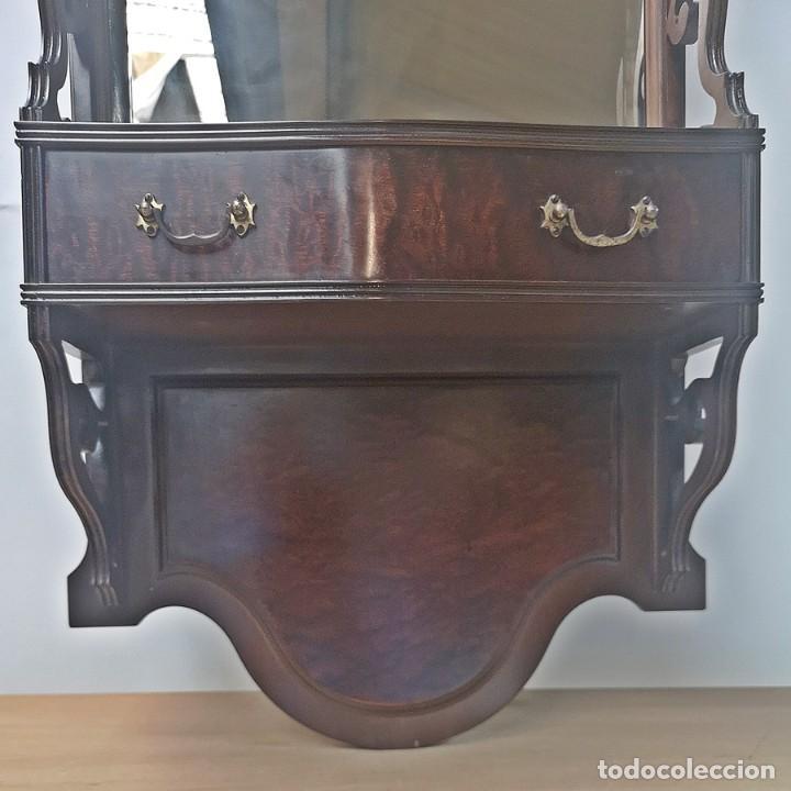 Antigüedades: Espejo con Cajón - Foto 3 - 242272250