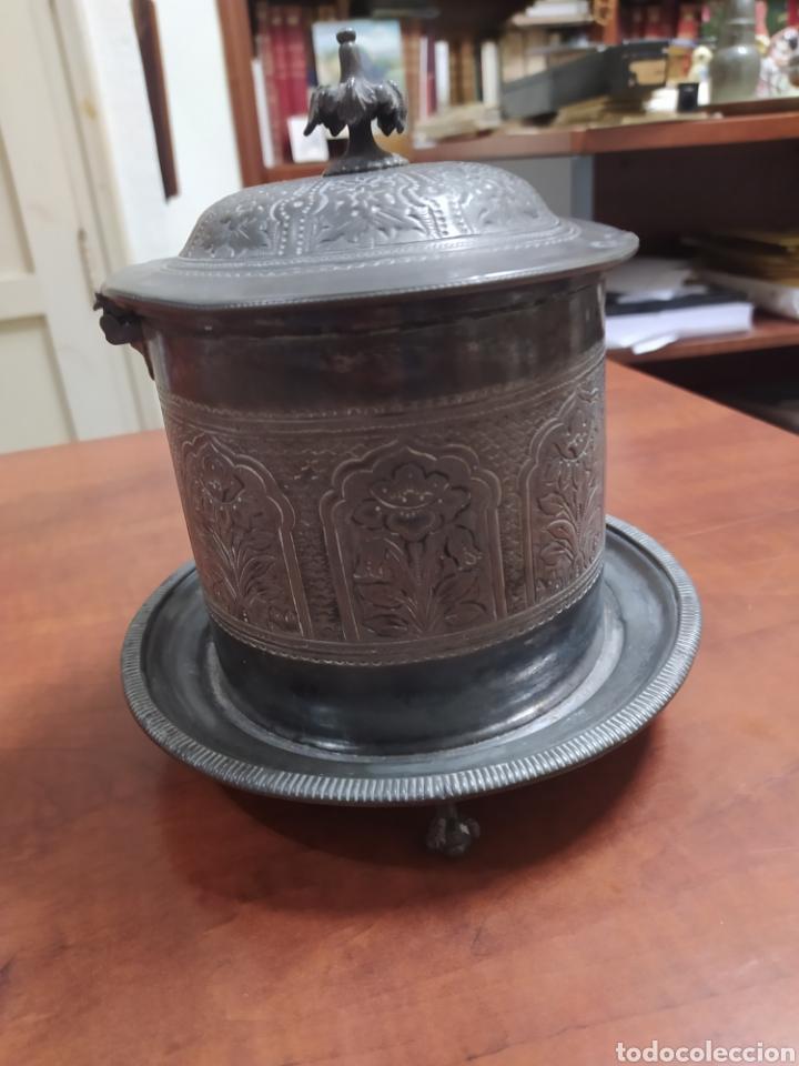 ORNAMENTO ANTIGUO PARA CEREMONIA JUDÍA. (Antigüedades - Religiosas - Ornamentos Antiguos)
