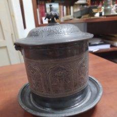 Antigüedades: UTENSILIOS ANTIGUO PARA CEREMONIA JUDÍA.. Lote 242278430