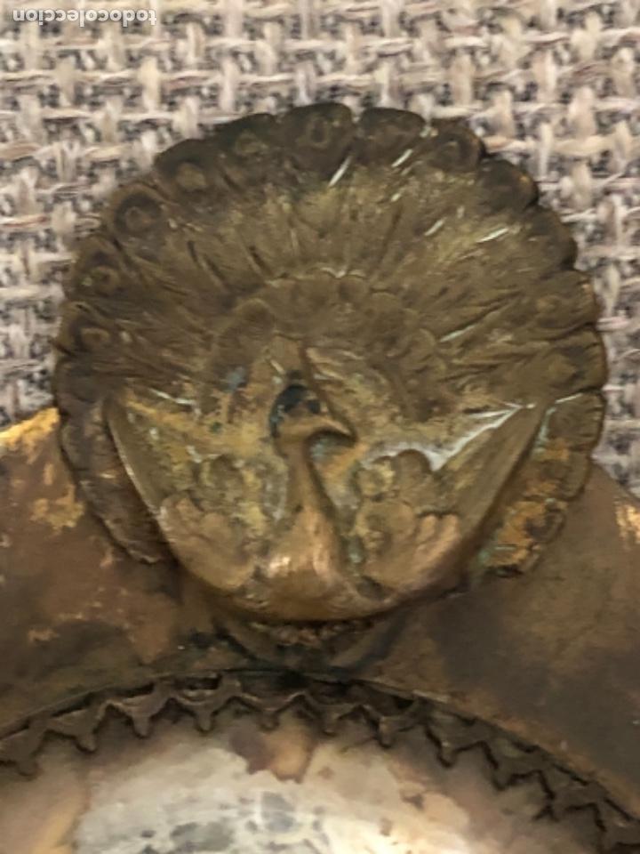 ANTIGUO ESPEJO DE MANO ART DECO. (Antigüedades - Muebles Antiguos - Espejos Antiguos)
