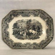 Antiquités: BANDEJA DE CARTAGENA ALGUN DEFECTO RESEÑADO EN FOTOS. Lote 242318725