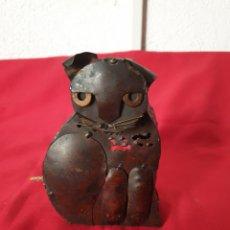 Antiquités: ANTIGUO PORTAVELLAS GATO. Lote 242320490
