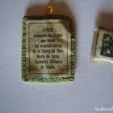 Antigüedades: PAÑITO SIERVA CARMELITA DESCALZA DE TOLEDO. Lote 242377540