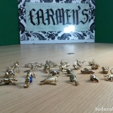 Antigüedades: COLECCION DE 24 PINS DORADOS MUY BOTITOS Y CURIOSOS. Lote 242427120