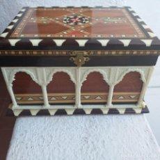 Antigüedades: CAJA DE TARACEA DE GRANADA.. Lote 242439650