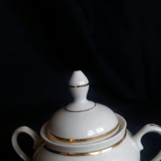 Antiquités: AZUCARERO DE PORCELANA SANTA CLARA. Lote 242455720