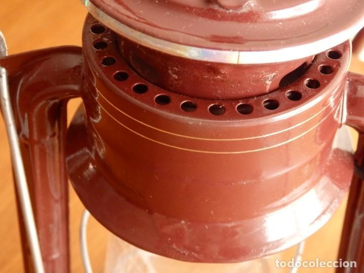 Antigüedades: #MEVA 865 #farol #quinque #candil #farolillo - Foto 7 - 220777362