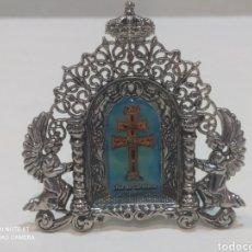 Antigüedades: PRECIOSA CRUZ DE CARAVACA CON TODO TIPO DE DETALLES. Lote 242822080