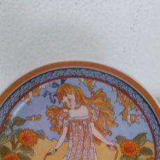 Antigüedades: PLATO DE COLECION UNICEF.HEINRICH GERMANY VILLEROY BOCH NINOS DEL MUNDO , N.1. Lote 242840430