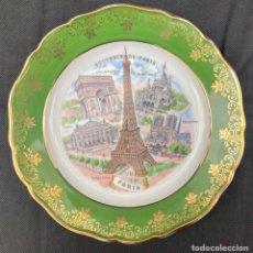 Antiguidades: LIMOGES. PLATO LIMOGES SOUVENIR PARIS. Lote 242860990