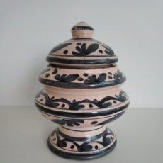 Antigüedades: RECIPIENTE CERÁMICO ANTIGUO.. Lote 242869755