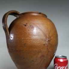 Antiquités: TUPI-GERRA OLLA PUCHERO DE 10 LITROS SELVA DEL CAMP CON MARCAJE ORFEBRE CERAMISTA TERAÑINA. Lote 242879375