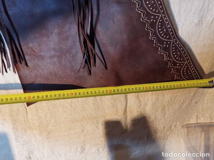 Antigüedades: ANTIGUOS ZAHONES ANDALUCES CABALLERIA GANADERO JINETE CUERO BECERRO -ANDALUCIA - Foto 47 - 242881715