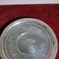 Antigüedades: CENTRO EN PLATA DE LEY 925 STERLING FINO TRABAJO ORFEBRE. Lote 242886075