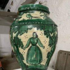 Antigüedades: GRAN ORZA JARRÓN PUENTE DEL ARZOBISPO. Lote 242887325