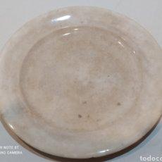 Antigüedades: FUENTE REDONDA GRANDE DE CARTAGENA SIGLO XIX SELLO INCISO. Lote 242906625