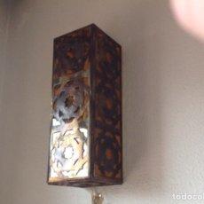Antigüedades: APLIQUE LUZ MARROQUI. Lote 242922490