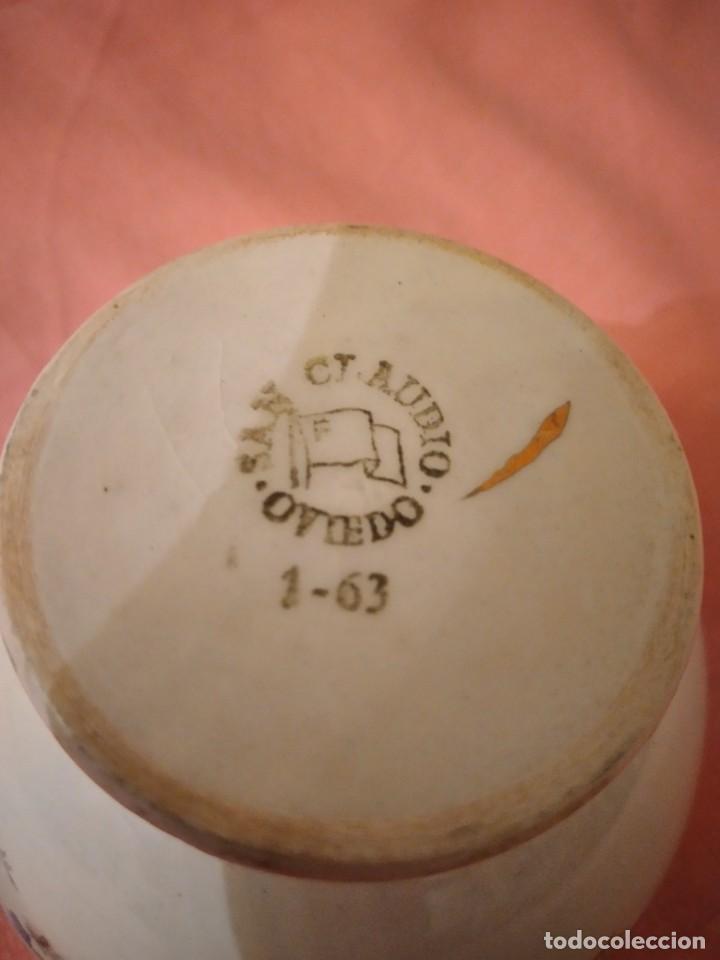 Antigüedades: lote de 4 tazones de porcelana San Claudio Oviedo - Foto 7 - 242981050