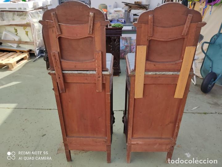 Antigüedades: parejas de emsillas altas artenova-modernista - Foto 6 - 243017655