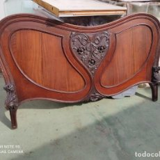 Antiquités: CABECERO DE CAMA ARTENOVA-MODERNISTA. Lote 243018180