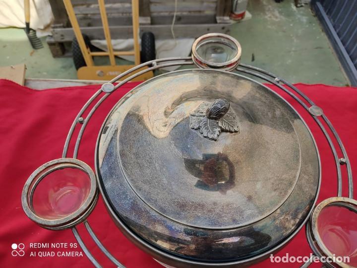 Antigüedades: cacharro de alpaca - Foto 3 - 243019420