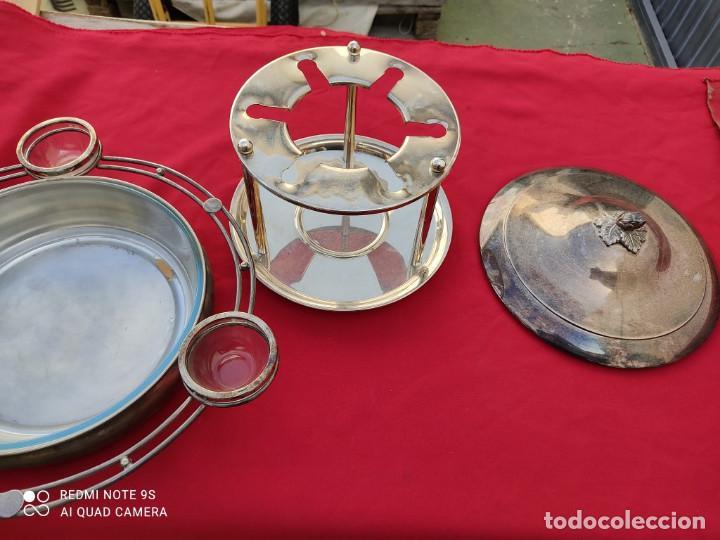 Antigüedades: cacharro de alpaca - Foto 5 - 243019420