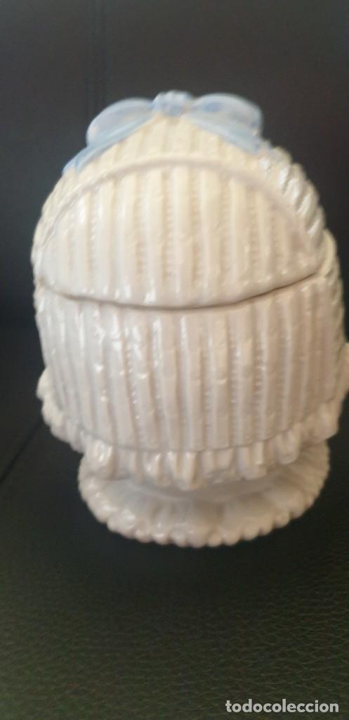 Antigüedades: Bombonera alemana cabeza bebé - Foto 3 - 243036425