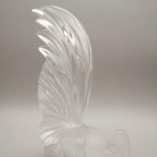 Antigüedades: LALIQUE GALLO PARÍS FRANCE. Lote 243068080