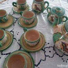Antigüedades: JUEGO CAFÉ PUENTE DEL ARZOBISPO. Lote 243099200