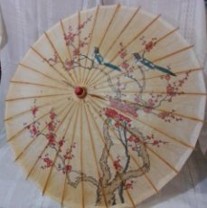 Antigüedades: ANTIGUA Y ORIGINAL SOMBRILLA CHINA.. Lote 243125470