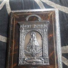 Antigüedades: ANTIGUO RELICARIO DE LA VIRGEN DE COVADONGA. Lote 243175915