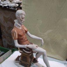 Antigüedades: FIGURA DE PORCELANA DE DON QUIJOTE - PORCELANAS D'ART S.A - LEER DESCRIPCIÓN -. Lote 243177140