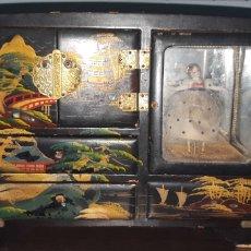 Antiquités: JOYERO MUSICAL ANTIGUO MOTIVOS CHINESCOS AÑOS 50. Lote 243196300