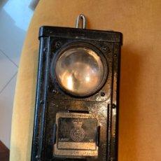 Antigüedades: FAROL WHETSTONE LEICS POLICE. Lote 243216435