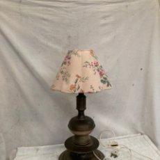 Antiquités: PRECIOSA LAMPARA DE LATON ANTIGUA!. Lote 243262840
