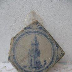 Antigüedades: AZULEJO SIGLO XVIII TRIANA. Lote 243277125