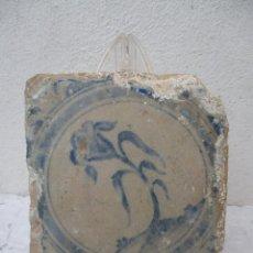 Antigüedades: AZULEJO SIGLO XVIII TRIANA. Lote 243277360