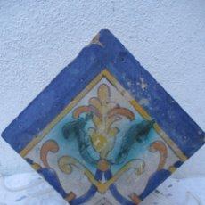 Antigüedades: AZULEJO TRIANA SIGLO XVII. Lote 243287650
