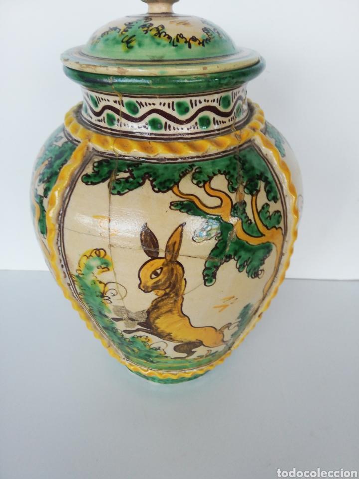 Antigüedades: Jarrón cerámica puente del arzobispo - Foto 3 - 243328075