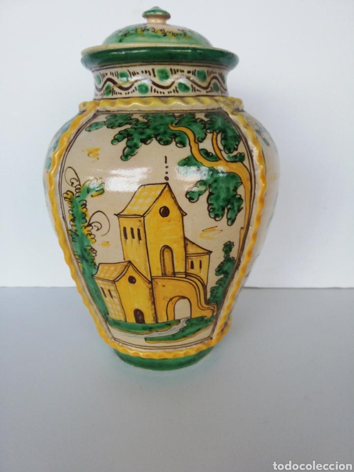 Antigüedades: Jarrón cerámica puente del arzobispo - Foto 4 - 243328075