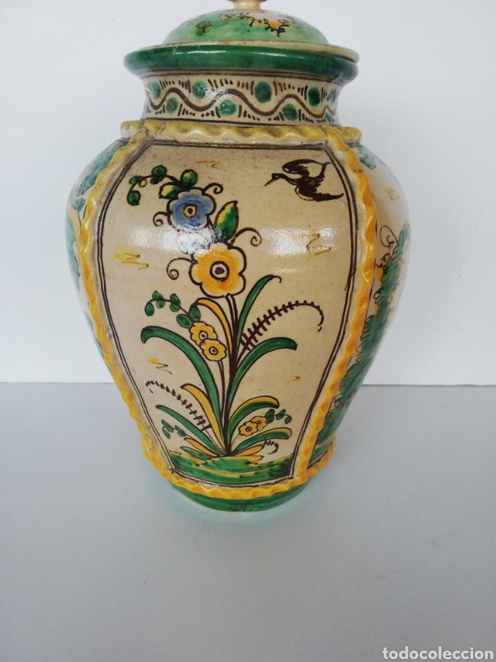 Antigüedades: Jarrón cerámica puente del arzobispo - Foto 5 - 243328075