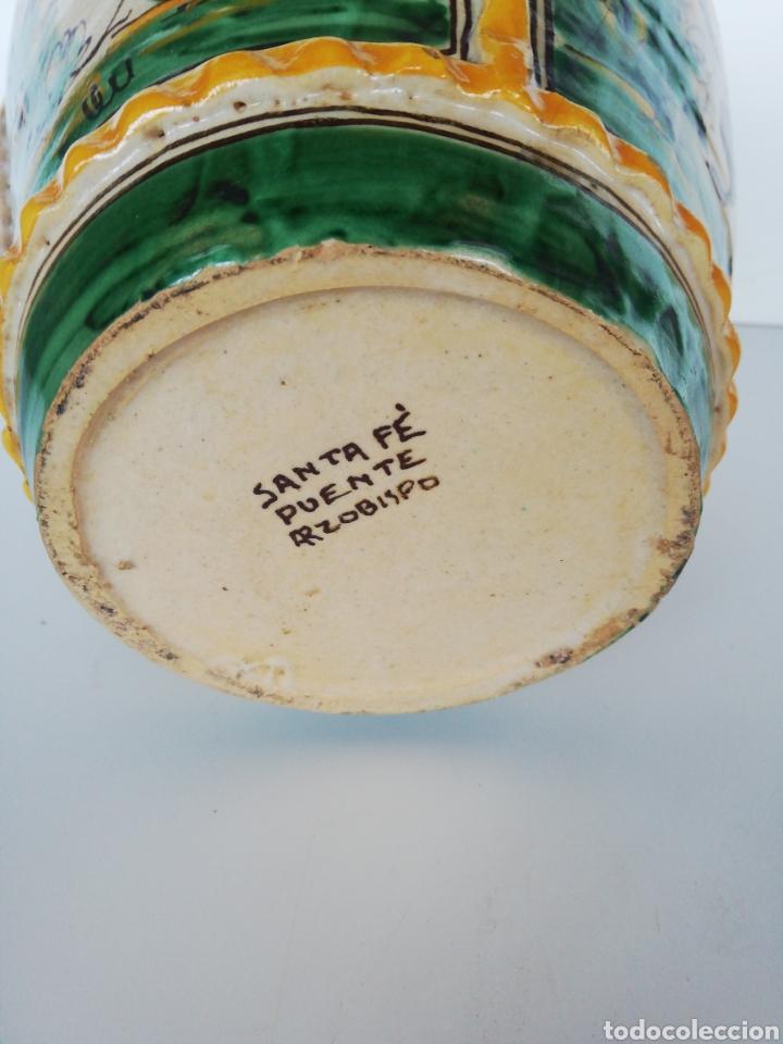 Antigüedades: Jarrón cerámica puente del arzobispo - Foto 7 - 243328075