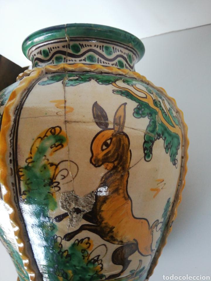 Antigüedades: Jarrón cerámica puente del arzobispo - Foto 8 - 243328075